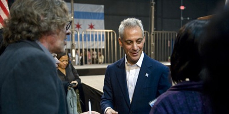 Mayor Rahm Emanuel officially kicked off his campaign a couple weeks ago, but his fundraising machine has never stopped running.