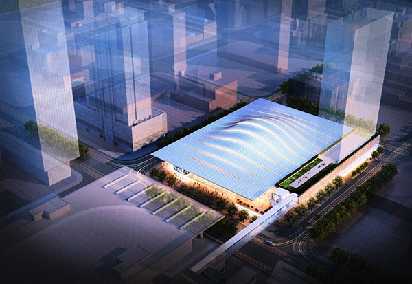 Mayor Rahm Emanuel plans to build a basketball arena and hotel complex in the South Loop—unless property owner James McHugh can thwart him. - SUN-TIMES MEDIA