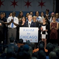 Rahm's first reelection rally makes for a great story