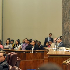 Mayor Rahm presides over another Meigs Field raid, er, City Council meeting.