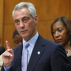 Mayor Rahm's so eager to fire more union teachers, he's planning to stick a Noble Charter high school across the street from Prosser High—public safety be damned.
