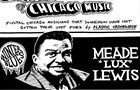 Meade 'Lux' Lewis helped kick off the boogie-woogie craze with his lifelong friend Albert Ammons