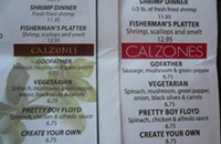 Menu plagiarism in East Village?