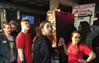Headquarters hosted a pinball tournament for masochists