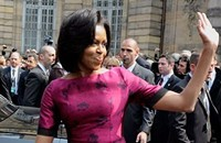 Michelle Obama goes to Europe