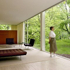 Mies van der Rohe's Farnsworth House in Plano: The details are crucial.