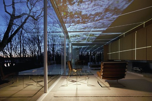 Mies van der Rohes Farnsworth House