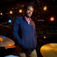 "The People Issue, 2011 Mike Reed is a jazz drummer and composer who books and produces the Pitchfork Music Festival, founded the Brilliant Corners of Popular Amusements Festival, and helps program the Chicago Jazz Festival and Umbrella Music Festival.  ""You find a bunch of people who aren't really 'fitting in' and they've got their own ideas."" Saverio Truglia"
