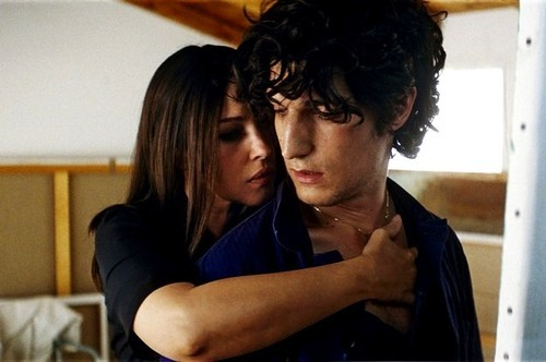 Monica Belucci and Louis Garrel in Philippe Garrels A Burning Hot Summer