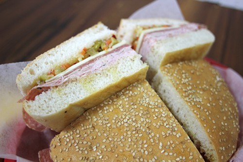 Muffaletta at J.P. Graziano & Sons
