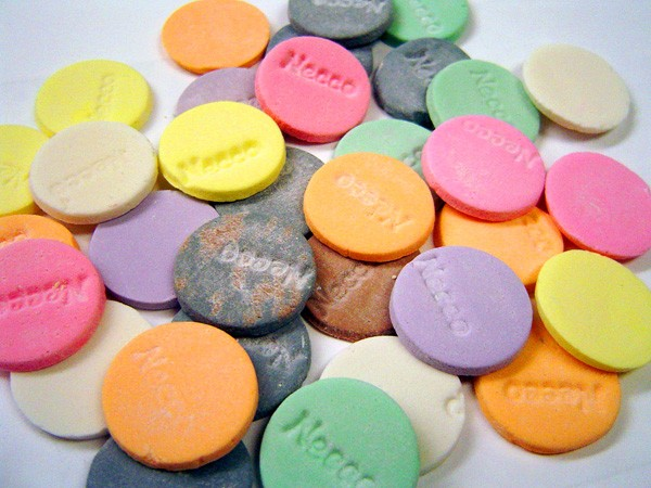 Necco Wafers - LISA BUNCHOFPANTS