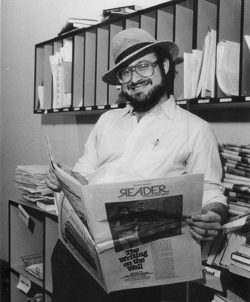 Neil Tesser in 1985 - SUN-TIMES PRINT COLLECTION