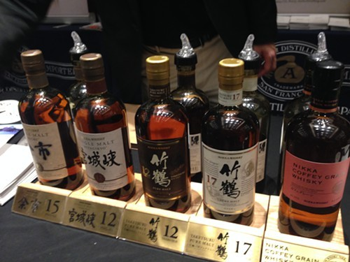 Nikka whiskies