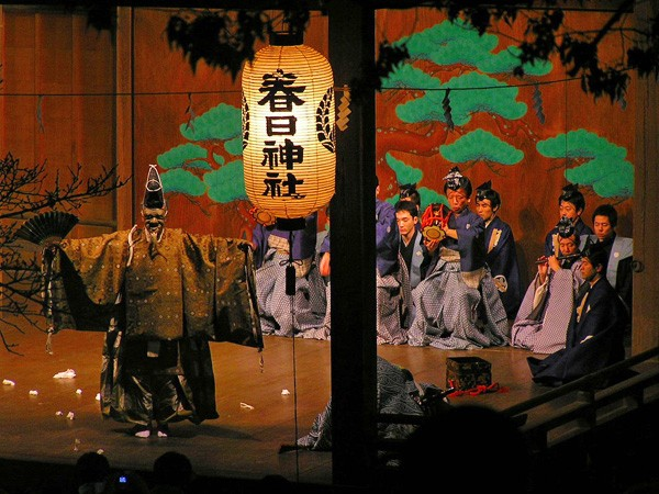 Noh theater - WIKIMEDIA COMMONS