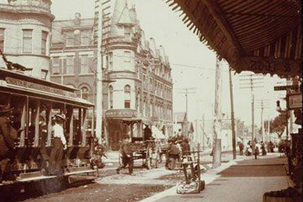 North/Damen/Milwaukee Avenue circa 1905