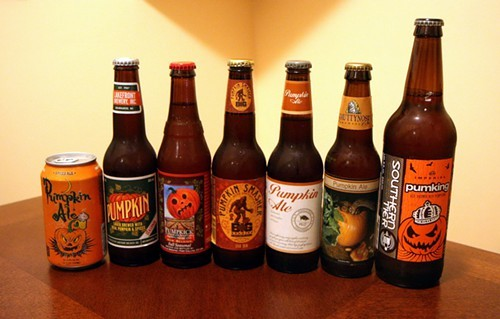 Not even half of the pumpkin beers available in Chicago