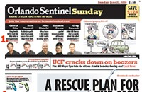 Notes on the new Orlando Sentinel