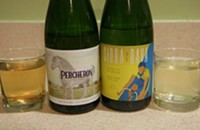 Now available by the bottle: Virtue Cider's Sidra de Nava and Percheron