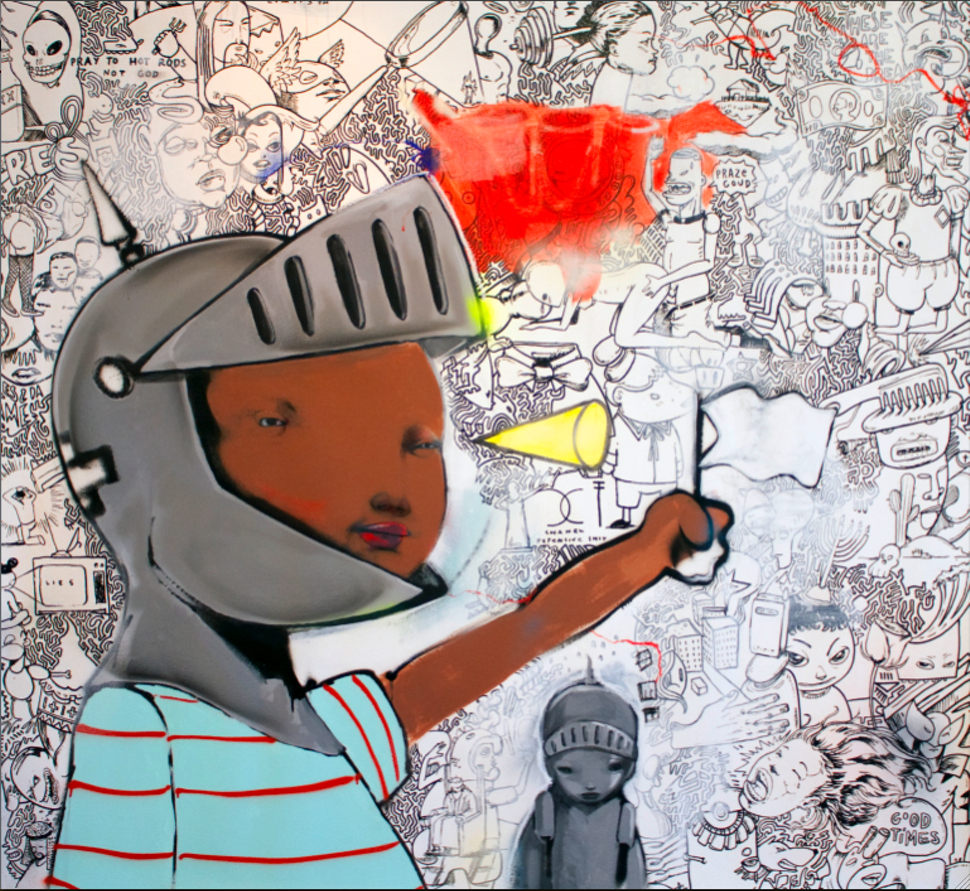Numb Declaration, Hebru Brantley