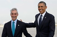 Obama once again comes to Rahm's rescue