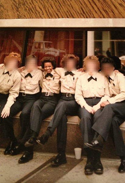 Officer Donna Adams with her fellow rookies from the class of March 1985 - COURTESY DONNA ADAMS