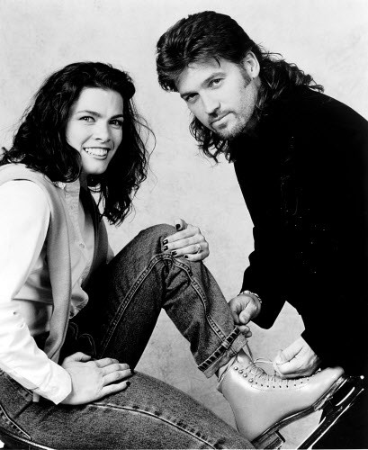 Oh so 90s: Nancy Kerrigan and Billy Ray Cyrus