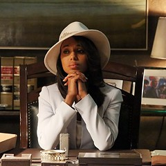 Olivia Pope is most forlorn when there's no red wine in sight.