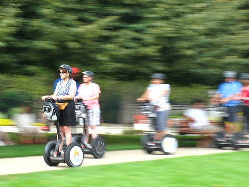 Olympic segways