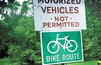 On two wheels: Bike rides and races