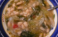 One bite: escarole and beans from Bari Foods