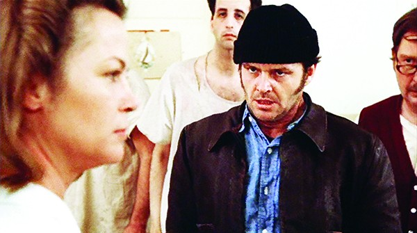 One Flew Over the Cuckoo's Nest screens Sat 10/18, 4 PM.