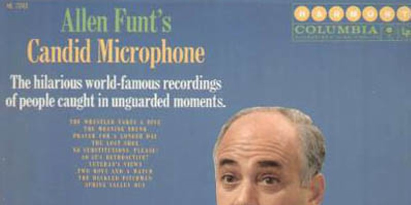 One of the Candid Microphone comedy records