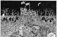 Oozing Wound and Black Pus ready a split LP