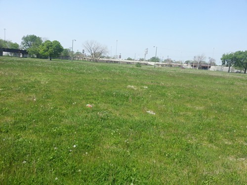 Open land between State and Federal, Pershing Road and 40th Street, where Robert Taylor Homes high-rises once stood