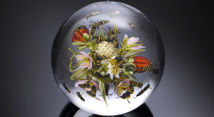 Paperweight by Paul Stankard