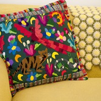 Latin American Design Aesthetics in Humboldt Park Parsell likes mixing patterns and textiles. Andrea Bauer