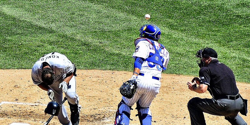 Paul Konerko's midseason beaning at the hands of the Cubs' Jeff Samardzija: an omen of what was to come.