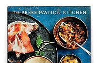 Paul Virant signs the <em>Preservation Kitchen</em> cookbook
