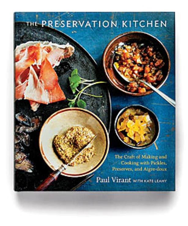 Paul virant signs the preservation kitchen cookbook bleader forumfinder