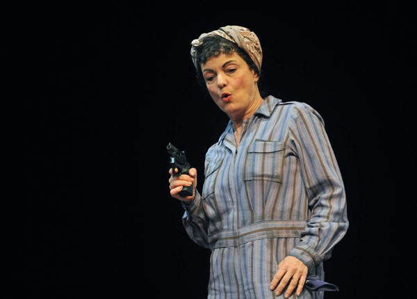 Paula Scrofano as Mickey in My One and Only - PETER COOMBS AND THE MARIOTT THEATER