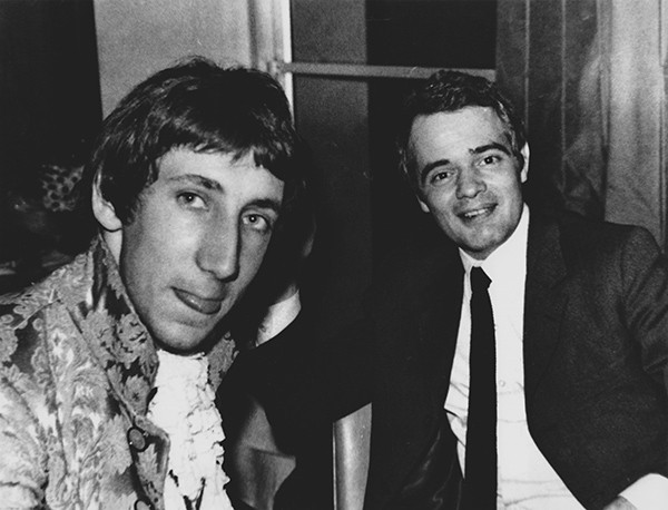 Pete Townshend and Kit Lambert in 1967 - TOM WRIGHT / SONY PICTURES CLASSICS