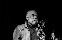 German reedist Peter Brötzmann, forever looking forward