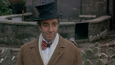 Peter Sellers in a nonexistent adaptation of Herman Melvilles The Confidence-Man