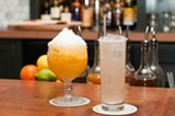 Passion fruit daiquiri and a flowery, lemonade-like Against the Bliss - ANDREA BAUER