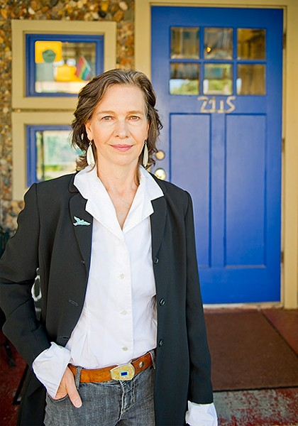 [photograph of author Louise Erdrich]