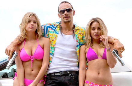 [photograph of James Franco in Spring Breakers]