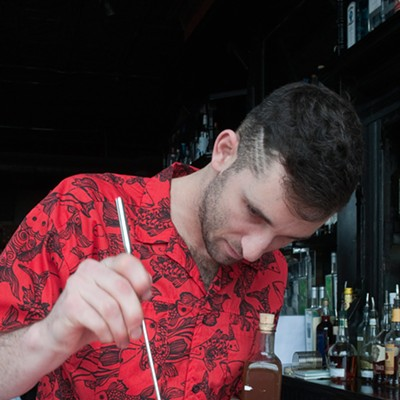 Danny Shapiro of Scofflaw makes a Poopsicle