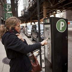 Private investors continue to collect millions of dollars a year from Chicago's parking meter system.