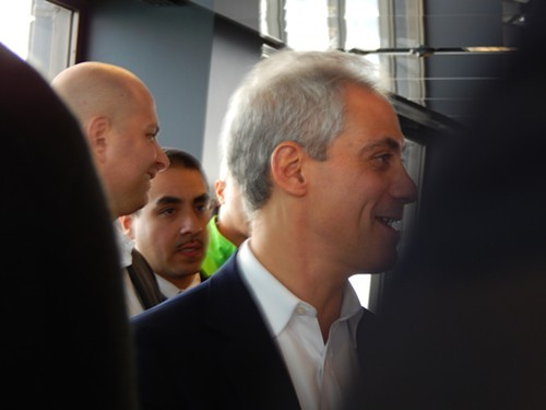 Rahm Emanuel: Stay long enough and you can vote.