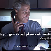 Rahm's first commercial turns a community victory into a personal victory